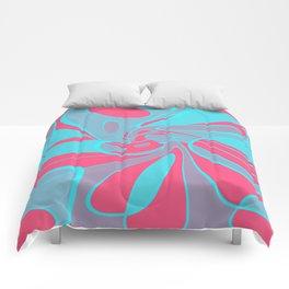 Blue Squabble Comforters