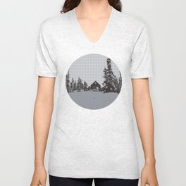 cabin love Unisex V-Neck