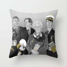 Cabin Crew Throw Pillow