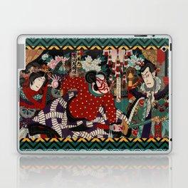 Kabuki Samurai Warriors Laptop & iPad Skin