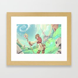 The Asgard Plains Framed Art Print