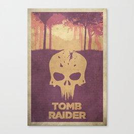 Sacrifices - Tomb Raider 2013 Poster Canvas Print
