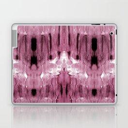 Mauve Moire' Shibori Laptop & iPad Skin