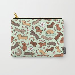 Wiener Dog Wonderland Carry-All Pouch