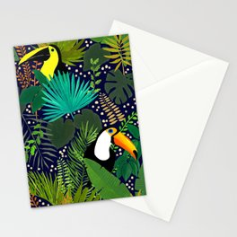 Gilded Jungle Stationery Cards