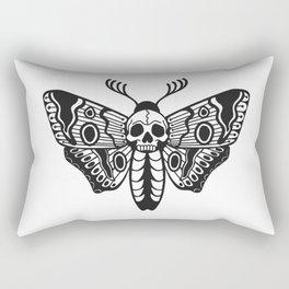 Death Moth Rectangular Pillow