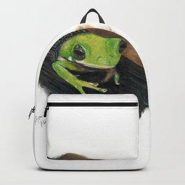 Peekaboo Tree Frog Backpack