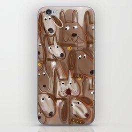 Woof Pack (duotone) iPhone Skin