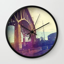 Vintage Bridge Wall Clock