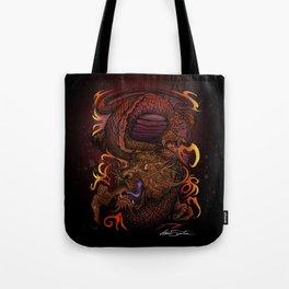 Dragon (Signature Design) Tote Bag