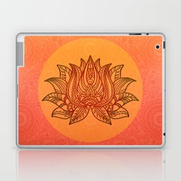 Lotus Flower of Life Meditation  Art Laptop & iPad Skin