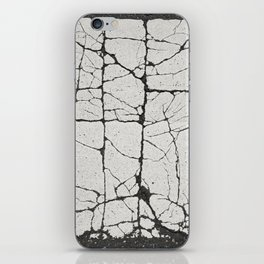 Cracked Crossing iPhone Skin