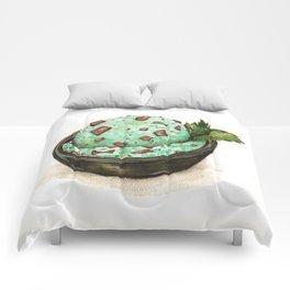 Mint Chocolate Chip Ice Cream Comforters