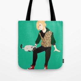 Yurio and Kitty Tote Bag
