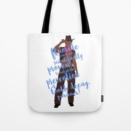 dental cowboy Tote Bag