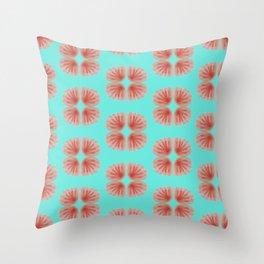 Shell Tie Dye Throw Pillow