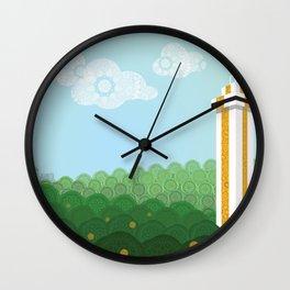 Gem of the Hills Wall Clock