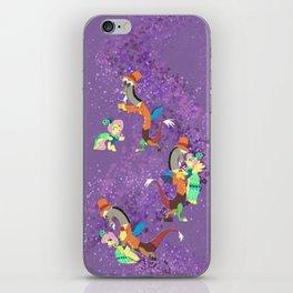 Dance Fluttercord iPhone Skin