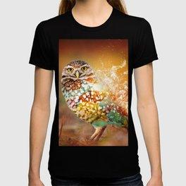 Owl on Fire by GEN Z T-shirt