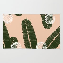 Palms & Dots #society6 #decor #buyart Rug