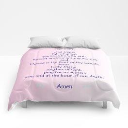 Hail Mary Comforters