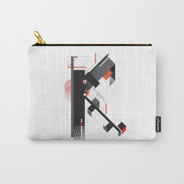 Abstract K Carry-All Pouch