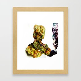 Weed is Life. Framed Art Print