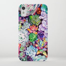 Succulent Garden iPhone Case