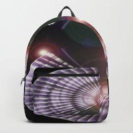 Dancing Lights In A Fan Language Backpack