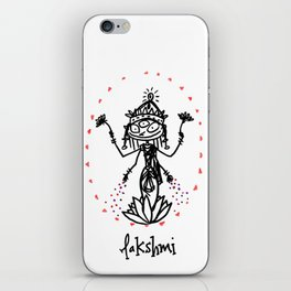 Lakshmi: Goddess of Abundance iPhone Skin
