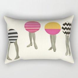 Dancing Feet Rectangular Pillow