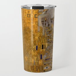 Adele Bloch-Bauer I by Gustav Klimt Travel Mug