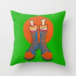 Coulrophobia (Clown Phobia) Throw Pillow