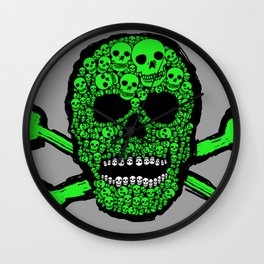 Musca Head Dead Wall Clock