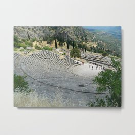 Theatre at Delphi Metal Print