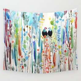 belle histoire Wall Tapestry