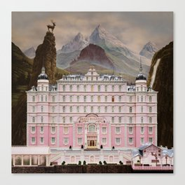 The Grand Budapest Canvas Print