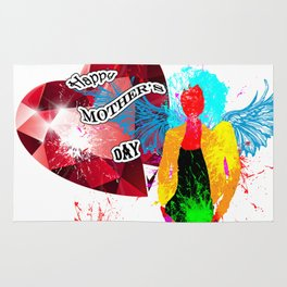 Happy Mother's Day Rug