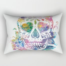 Sugar Skull Rectangular Pillow
