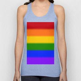 Rainbow Gay Pride Flag Unisex Tank Top