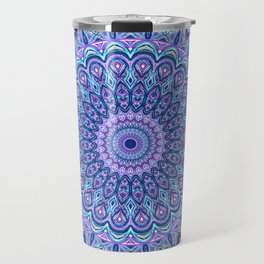 Purple Passion - Mandala Art Travel Mug