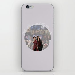 The Queen and the Pirate iPhone Skin
