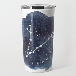 pisces constellation zodiac Travel Mug