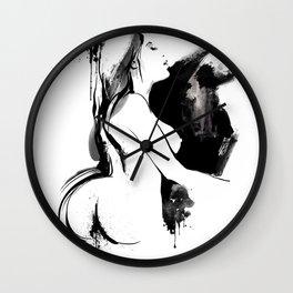 Nude Beauty Wall Clock