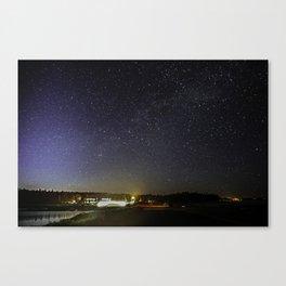 Seawall Stars Canvas Print