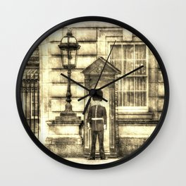 Buckingham Palace Queens Guard Vintage Wall Clock