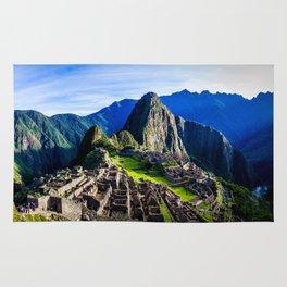Machu Picchu First Light Rug