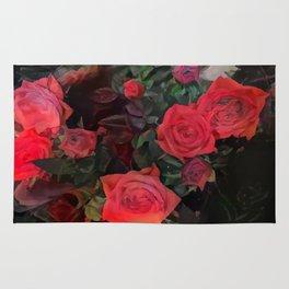 Forever red roses Rug