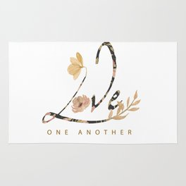 LOVE - one another Rug