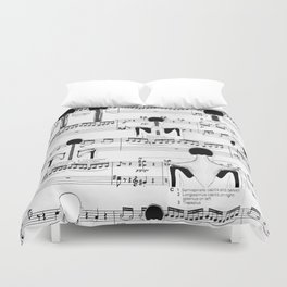 Spinal Chords from Wililam Tell Duvet Cover